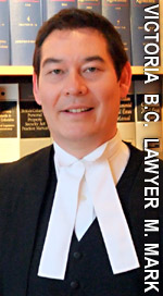 Michael Mark, BA LLB experienced wills / estates disputes - litigation lawyer in downtown Victoria BC with McConnan Bion O'Connor Peterson Law. Corp.